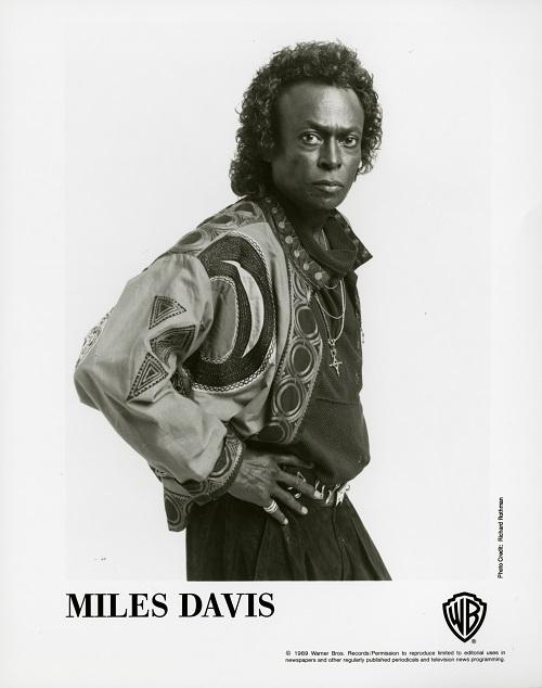 Miles Davis 1989 by Richard Rothman