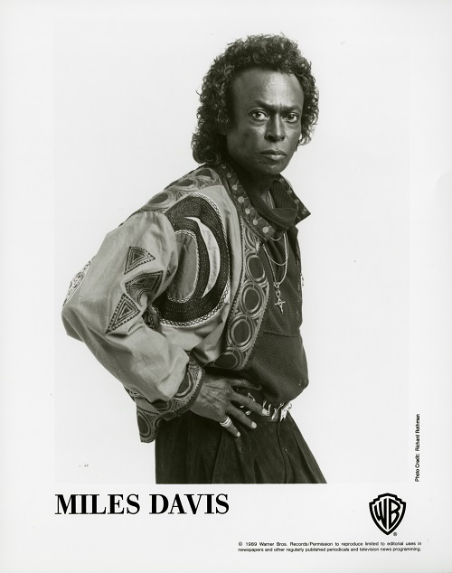 Miles Davis 1989 by Richard Rothman